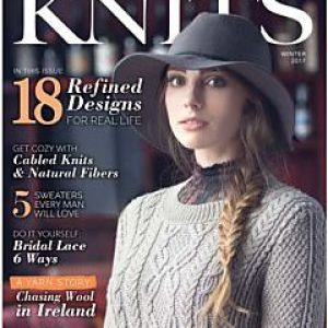 cover of Interweave Knits Winter 2016