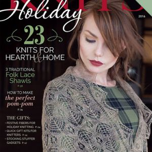 cover of Interweave Knits Holiday 2016
