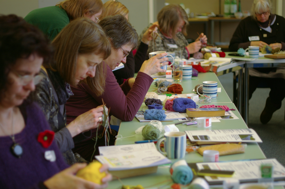 KNITSONIK workshop at Purlescence on 14th February 2015