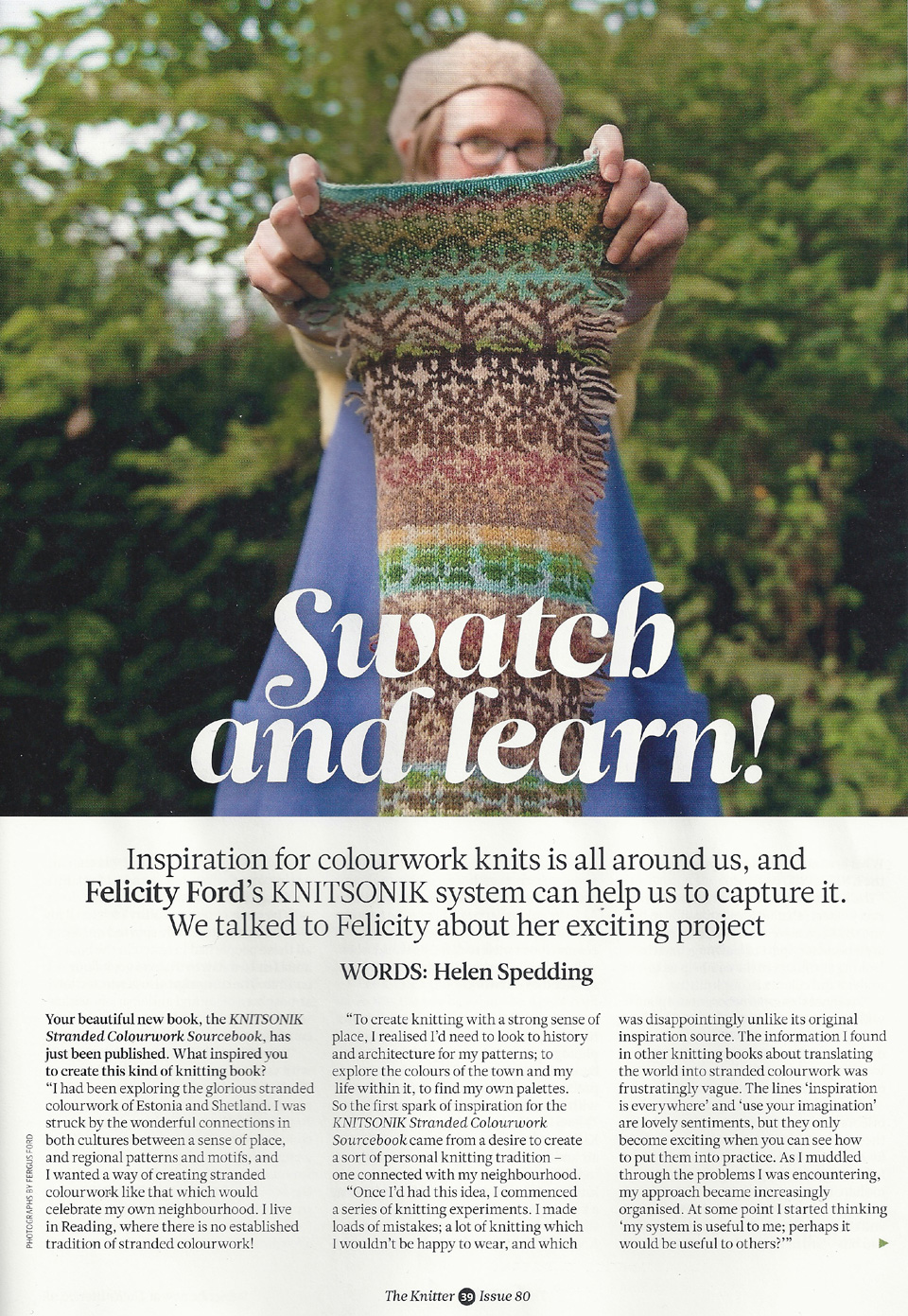 The Knitter magazine, January 2015