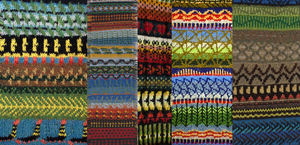 Swatches by Ines1, julischkam, me, sorosa and Fiberfryd...