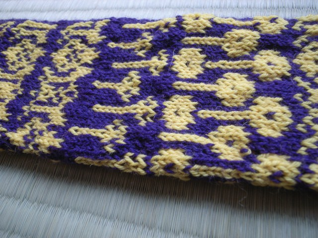 Early Lotus Swatch experiment