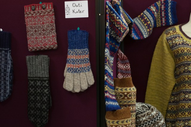 Outi Kater's Glorious Fair Isle Knitting