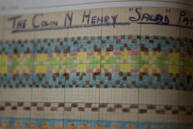 The Colin N Henry Salad Pattern
