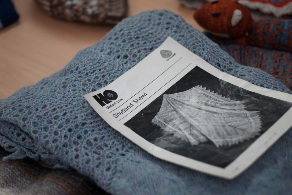 AuntiFred's Shetland Shawl