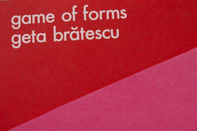 game of forms, geta brătescu