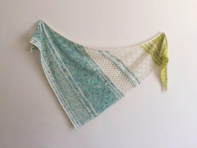 Hotel of Bees crochet shawl pattern