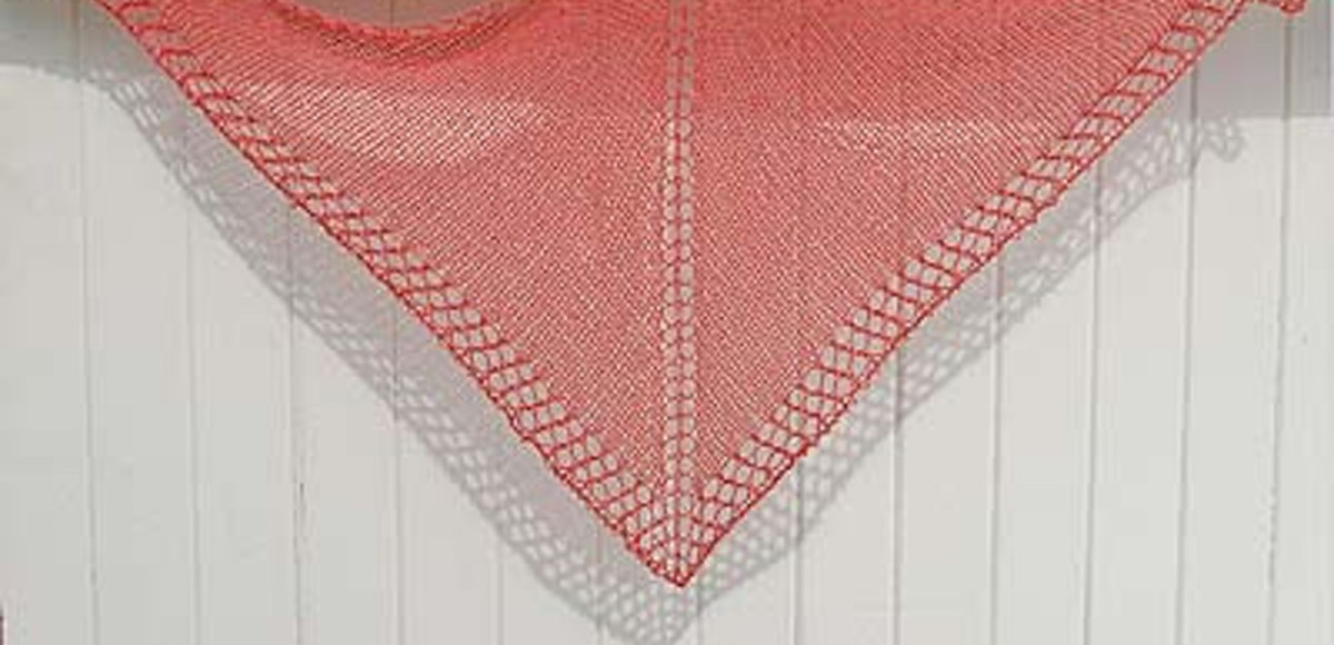The Secret of the One-Skein Shawl – Knitter\'s Review
