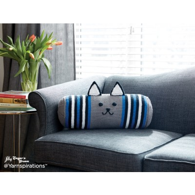 free cat cushion cover to knit # 15