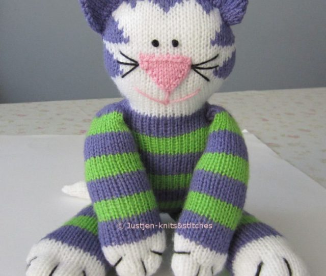 Free Knitted Cat Pattern Share Kitty
