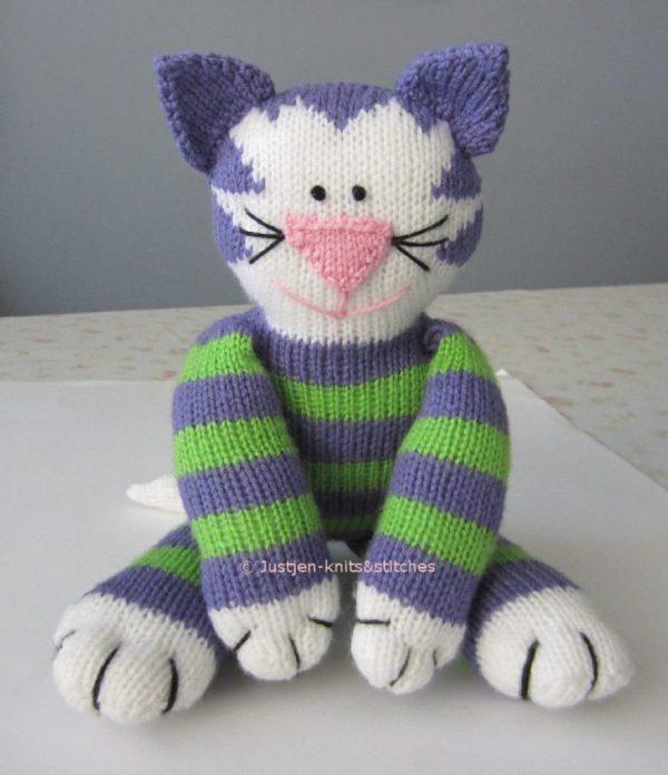 free cat knitting patterns # 1