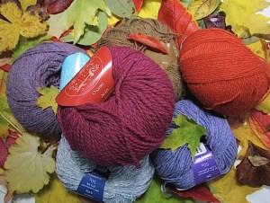 J C Rennie of Scotland - handknit yarns