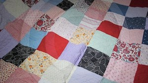 Patchwork quilt, late 19th Century