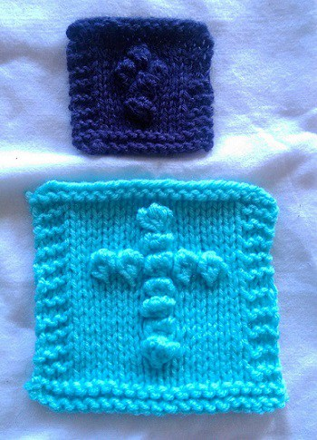 A Knitting Pattern: the Pocket Prayer Cloth