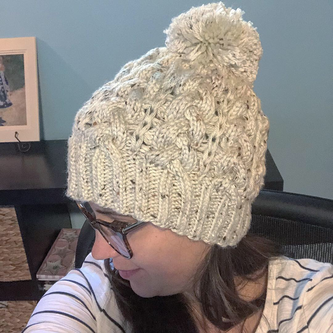 Gretchen is Live! | Knitting in the Park
