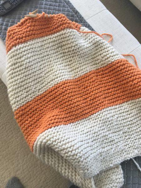Beginner friendly, Lap blanket Knitting Pattern | Knitting ...