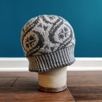Side view of the Crossing Trails hat on a cork head
