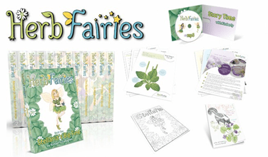 Herb Fairies and a free activity pack!