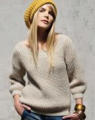 Hand Knitting Women's Sweaters (3)