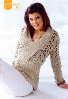 Hand Knitting Women's Sweaters (34)