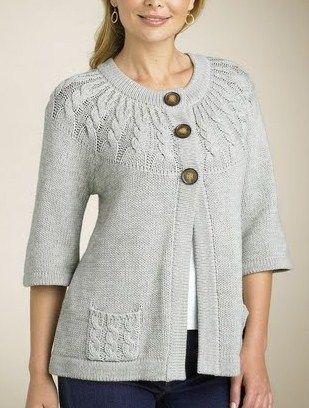 Hand Knitting Women's Sweaters (38)