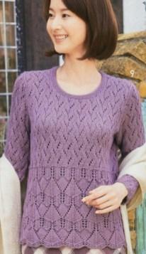 Hand Knitting Women's Sweaters (43)