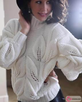 Hand Knitting Women's Sweaters (44)