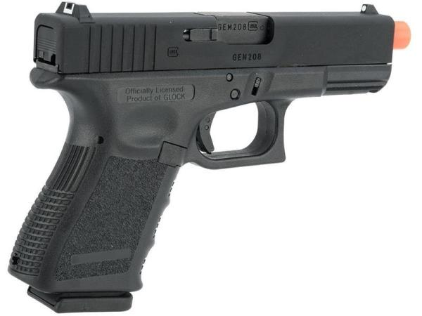 Officially Licensed GLOCK 19 Gas Blowback Airsoft Gun ...