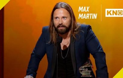 En el estudio: Max Martin