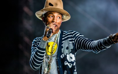 En el estudio: Pharrell Williams