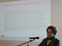Referentin Prof. Dr. Nivedita Prasad (Foto: Zentrum Oekumene - Bohländer)
