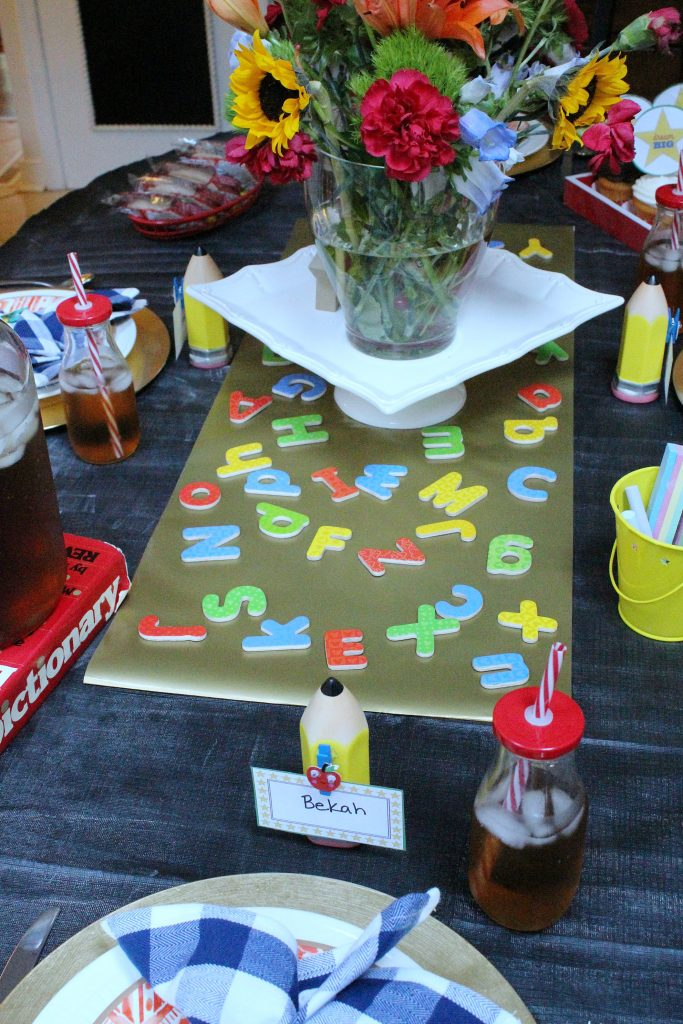 Back To School Party Table And Celebration Ideas For Your Family