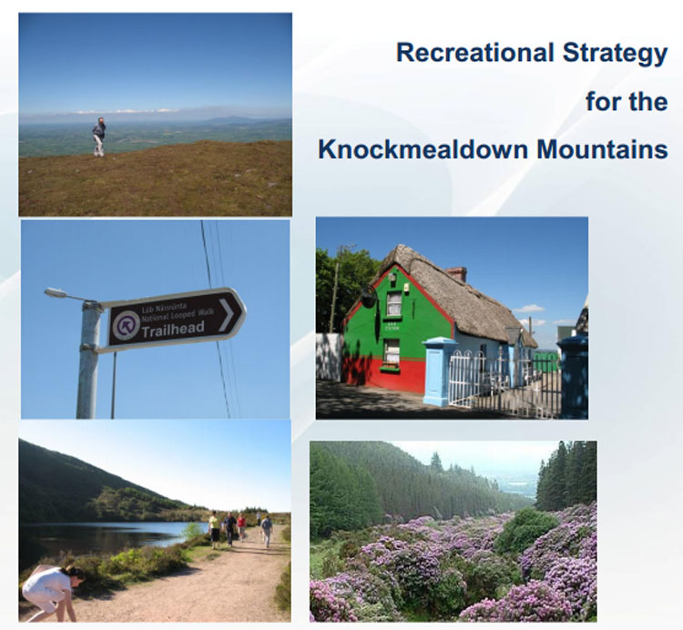 Recreational Strategy for the Knockmealdown Mountains