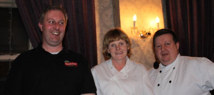 TJ Crowe, Eileen Condon & JJ Healy