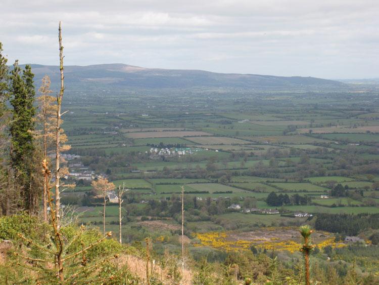 Clogheen and Galtee Mountains