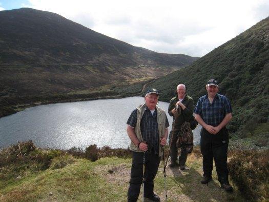 Knockmealdown Active Walkers at Bay Lough