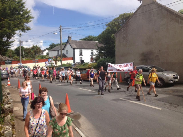 Walkers Enter Ardmore