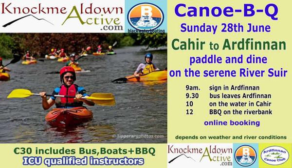 Suir Canoe Trip June 28th