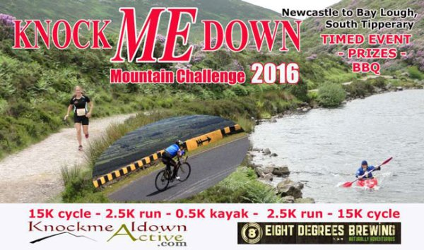 'Knock ME Down' Adventure Challenge - September 10th 2016