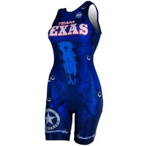 Texas National Team Wrestling (blue)