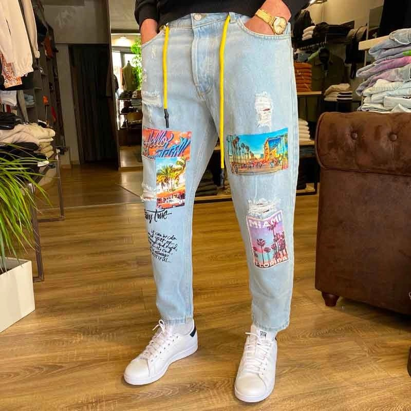 jeans stampe