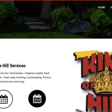 King of the Hill Best Landscaping Property Maintenance in Spring Hill Fl.