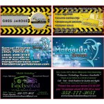 KD Solutions Silk Business Cards