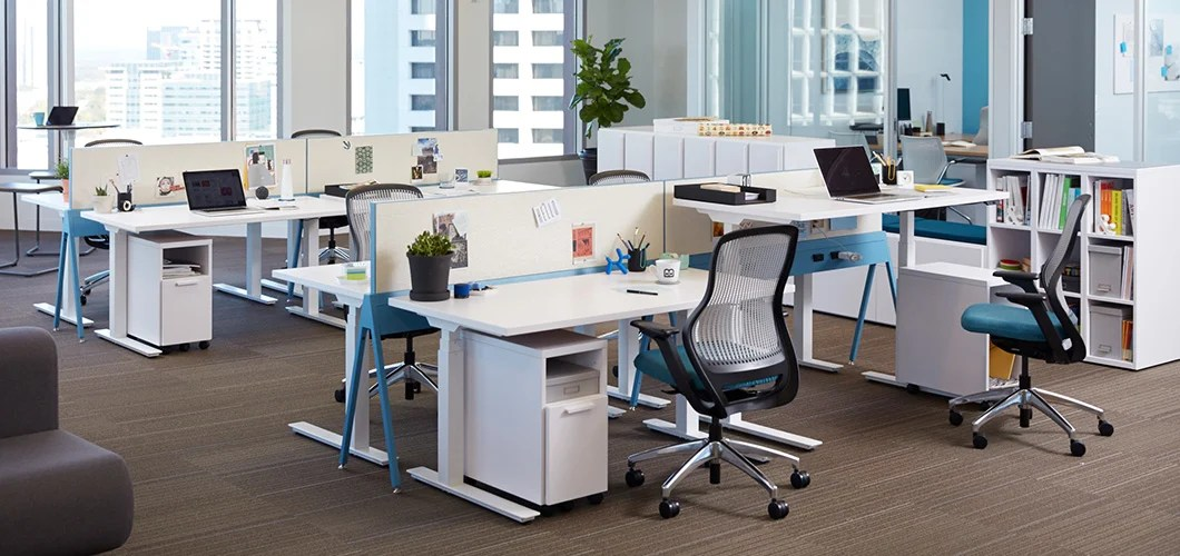 K Stand Height Adjustable Tables Knoll