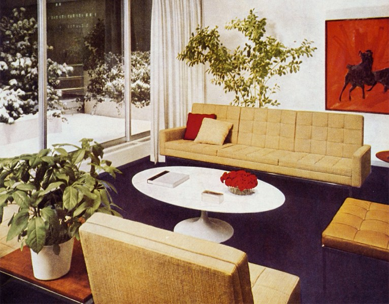 Knoll Cowles Publication Interior by Florence Knoll   Knoll