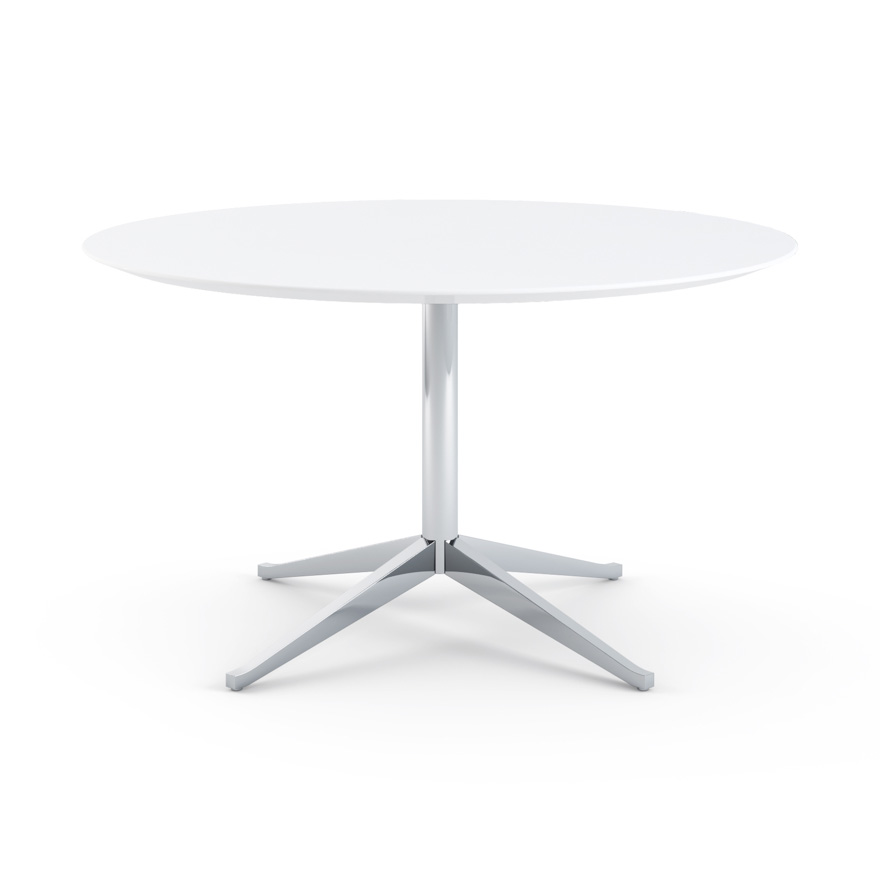 florence knoll table desk round 54