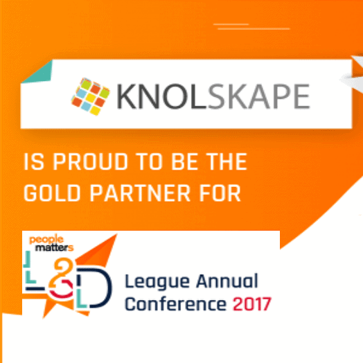 KNOLSKAPE showcases its advanced learning solutions at PeopleMatters L&D League Conference 2017