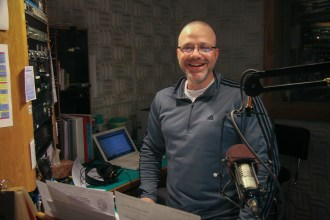Lance in Studio A
