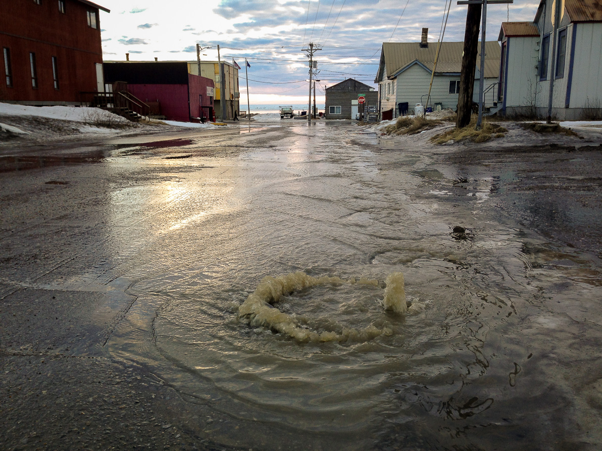 January thaw in Nome