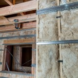 Insulated studio walls